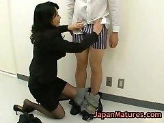 Natsumi kitahara tossing salad some stud part1
