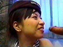 Ázsiai Stewardess Creampie