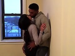 Korean student making out with her first black guy.