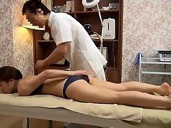 Mild Wife Gets Perverted Massage (Censored JAV)