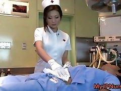 Emi Harukaze nurse in trouble