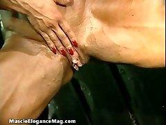 دينيس Masino 40 - أنثى لاعب كمال اجسام