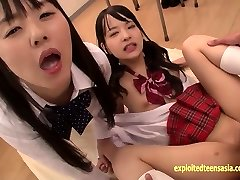 Abe Mikako Does Deep Rimming Shares Munching Jizz With Friend
