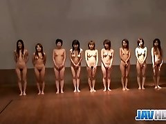 Bare Japanese women