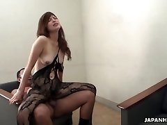 Farmer doll masturbates and deep-throats her uncle