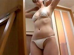 softcore asian bikini backside massage