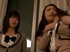 Japanese Tutor Can't Resist Cute Schoolgirl