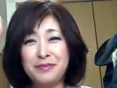 Japanese Chubby Mature Internal Cumshot Sayo Akagi 51years