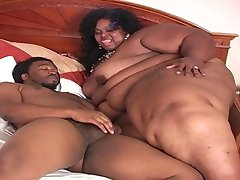 Mega Ebony SSBBW Gets Fucked II