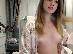 Mind-blowing naked camgirl sexy puffy nipples