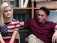 Shoplyfter - Girlfriend Porked By Sleazy Officer and Bf Watches