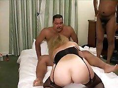 Hot Mustache Daddy-Bear in a gang plumb