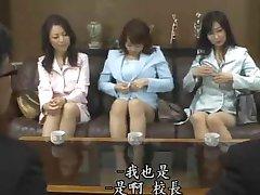 Japanse MILF Leraar Orgie