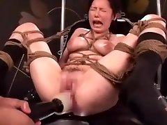 Chinese AV Porn Smashing Machine Maturbation (DXHK003) Ayuka Chisato