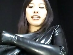 יפנית לטקס Catsuit 65