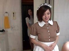 Fabulous Oriental Maid in glamour hotel scene