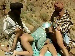 Fabulous homemade Arab, Gang-fuck adult video