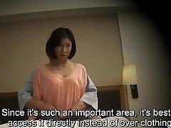 Subtitled Chinese hotel massage blowjob sex nanpa in HD