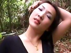 Asian milf fuck doll fuck in the cabin