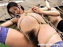 Bizarre Knocked Up Fetish Bondage Fuck AV