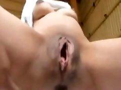 Asian Mature Extreme Yam-sized Poon