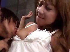 Extraordinary porn scenes along hot wife Ryo Akanishi