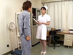 Brilliant Asian Nurse DEEP THROAT CIM