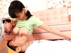 Exotic Japanese mega-bitch Akane Yoshinaga in Hottest Softcore JAV video