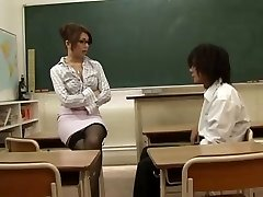 Japanese Teacher Lured By Her Student,By Blondelover.