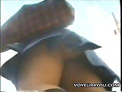 Upskirt Underpants Hidden Cam Movie