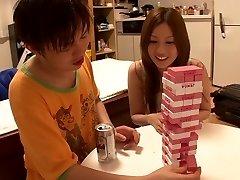 Horny Japanese bi-atch Yui Tatsumi in Amazing skinny, smallish tits JAV movie