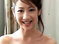 Sexy Chinese girlfriend oral job and rock-hard