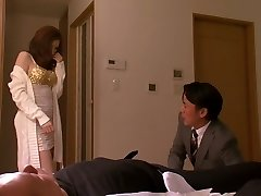 Crazy Japanese whore in Hottest Wife, Large Tits JAV movie