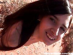 Eroberlin Zoe Rush skinny teen outdoor beauty