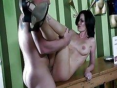 Hot secretary gets fucked