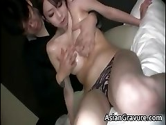 Awesome brunette asian hoe with great part2
