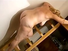 Old Granies playing in bed and masturbate wit