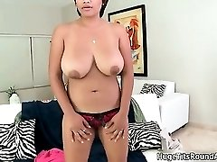 Sexy ebony babe goes crazy sucking part3