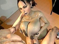 Sheva Alomar Tittyfuck 3D