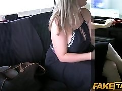 FakeTaxi - Cock hungry big boobed MILF