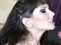 Slutty Big Tits Milf Takes Monster Facial