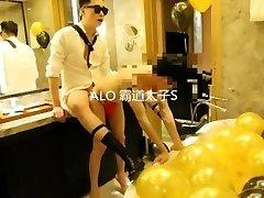 chinese twink motel bondage sex part 2