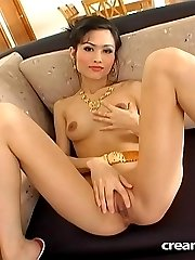 Exotic Nana gives a blowjob before getting fuck for a creampie