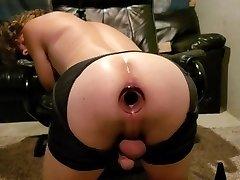 Butt plug gaping
