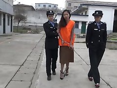 chinese girl at jail part3