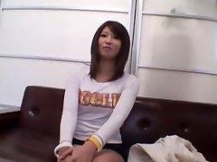 Hottest Japanese nymph Saya Mizuki in Kinky Blowjob, Casting JAV clip