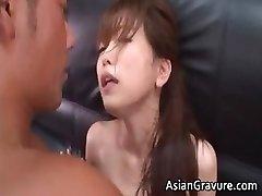 Hot and magnificent asian secretary blows rigid part4