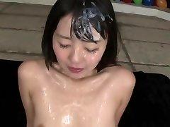 Asian bukkake princess