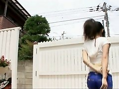 Frolicking dirty with spectacular Yui Komine