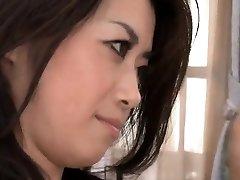 Sayuri Shiraishi rides a massive hard cock